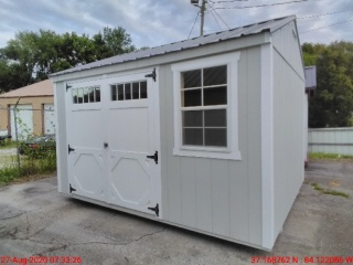 10 X 12 Compass Series Garden Shed