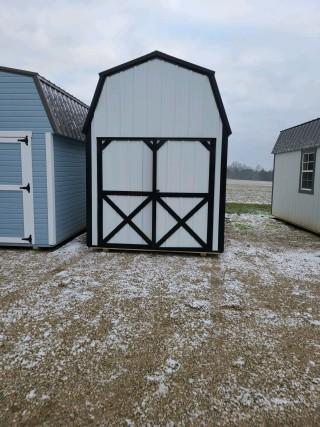 8 X 12 Compass Series High Barn